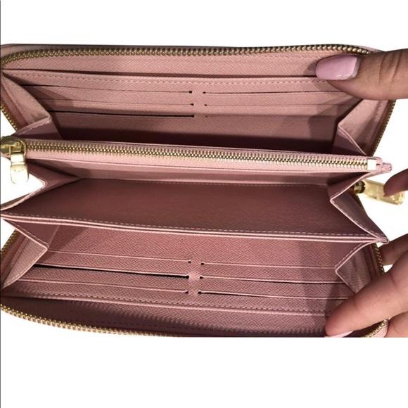 Louis Vuitton Handbags - Louis Vuitton Rose Balletine Damier Azur Zippy